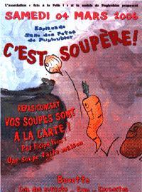 ON S'FAIT UNE BOUFFE en Mars Soupe